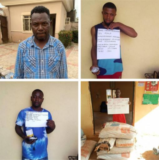 The drug barons arrested by NDLEA