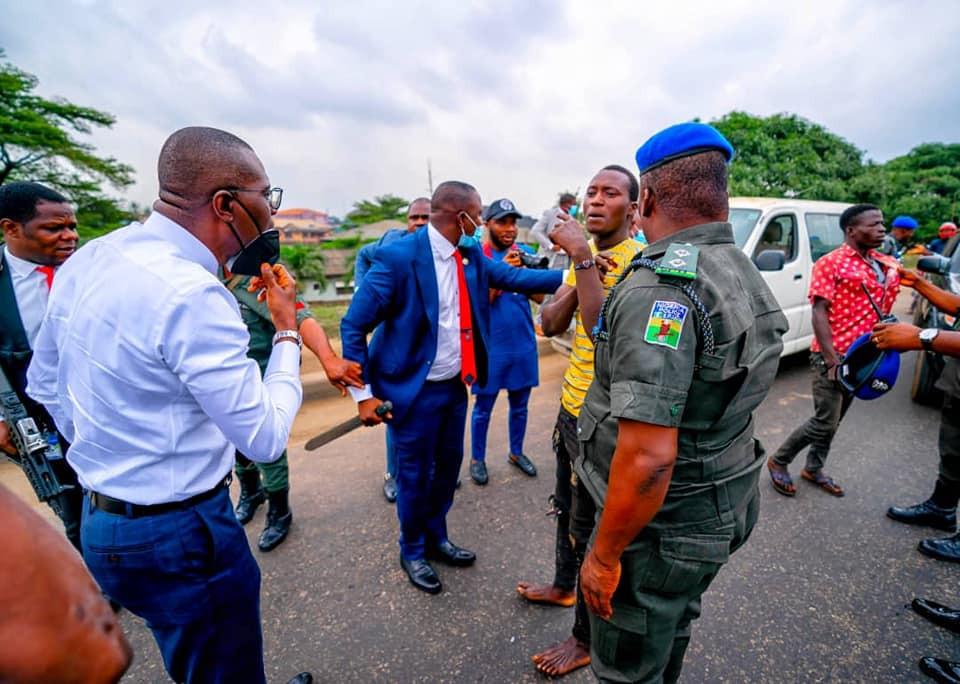 Sanwo-Olu arrests criminals in Ojota