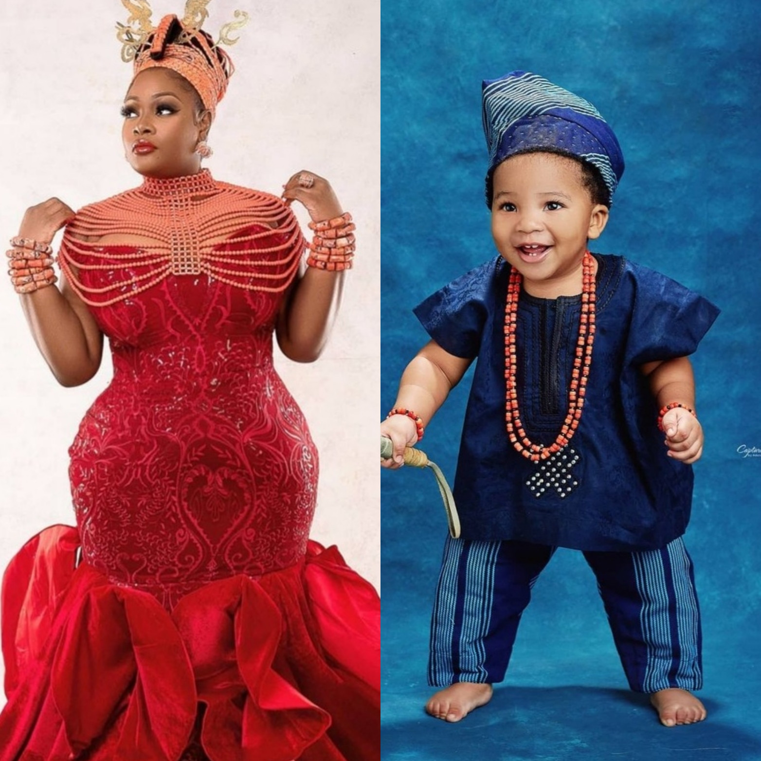 Toolz and her baby