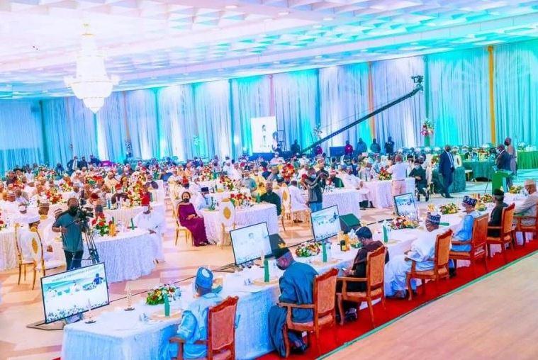 What Buhari Told Senators, Reps At Dinner #Arewapublisize