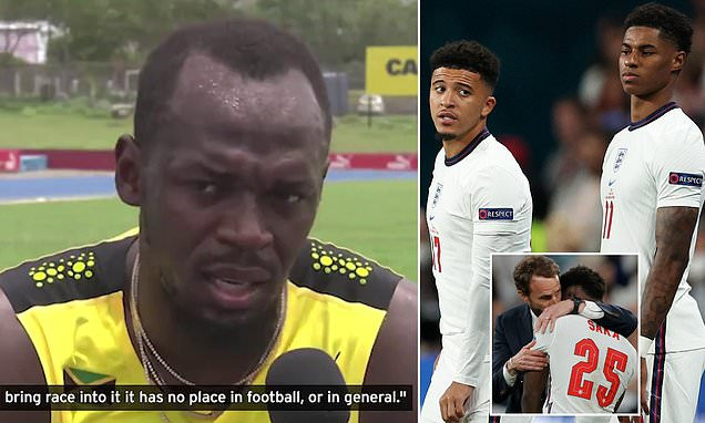 Bolt talks about abuse directed at Black England players