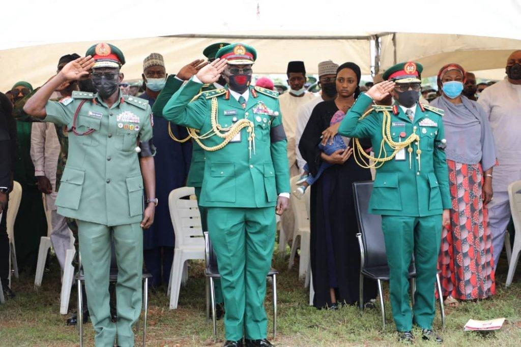 Major General Hassan Ahmed buried