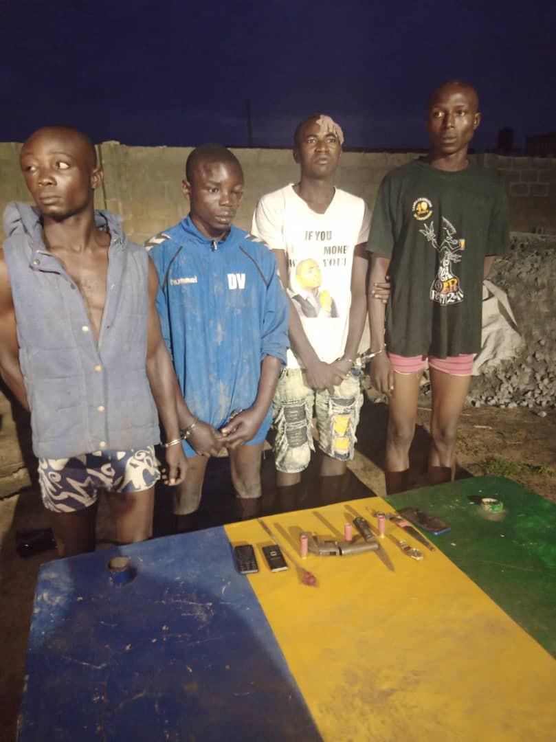 Cultists arrested in Ogun state