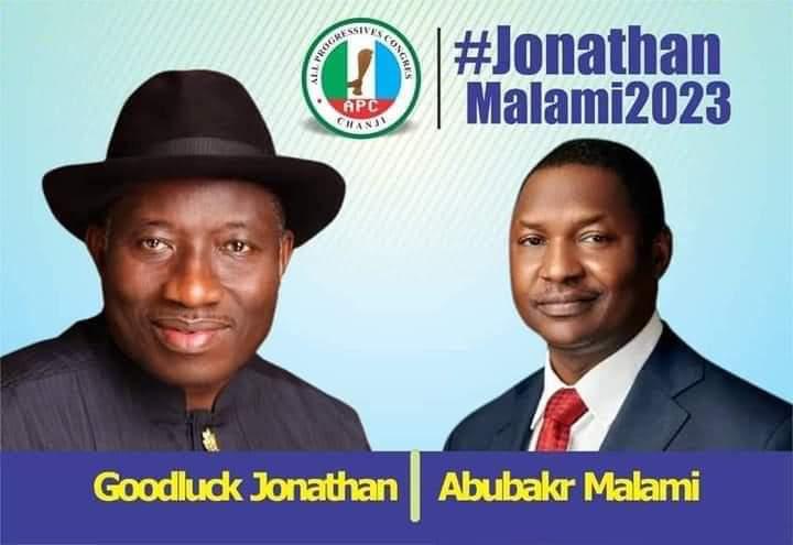 Goodluck Jonathan and Abubakar Malami