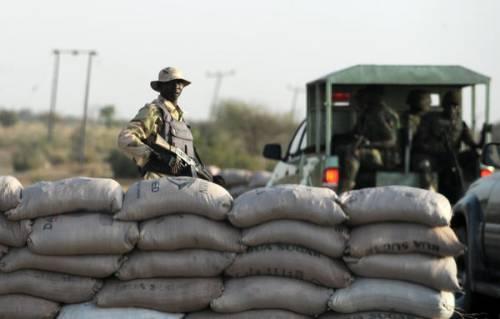Army checkpoint