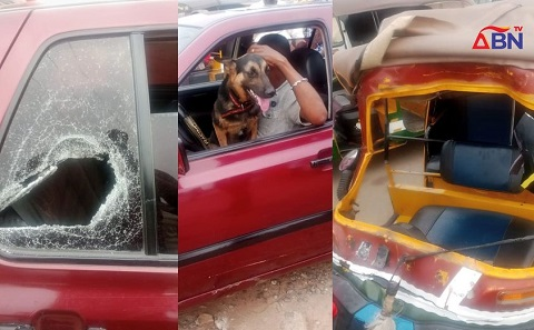 Robbers involved in an accident in Abia