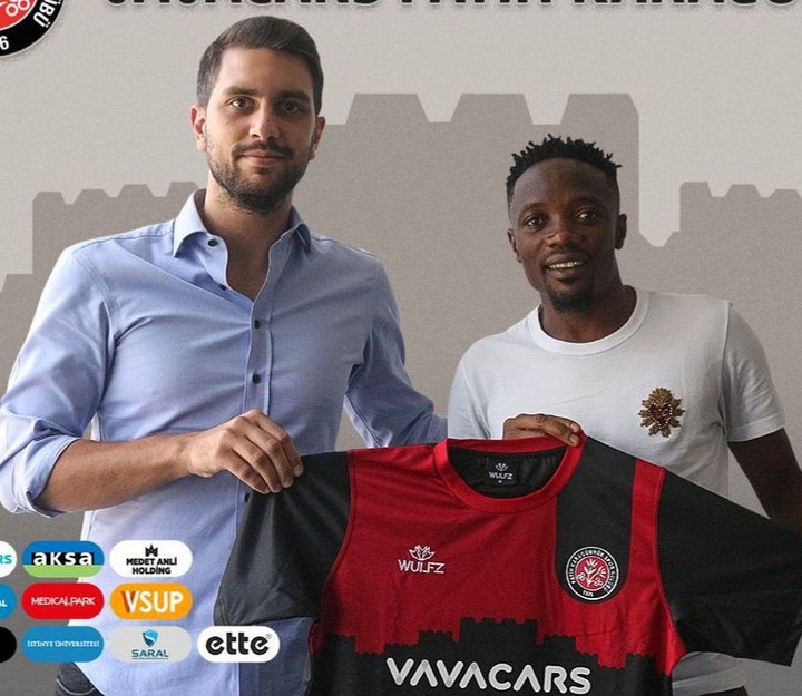 Ahmed Musa signs for Turkish club