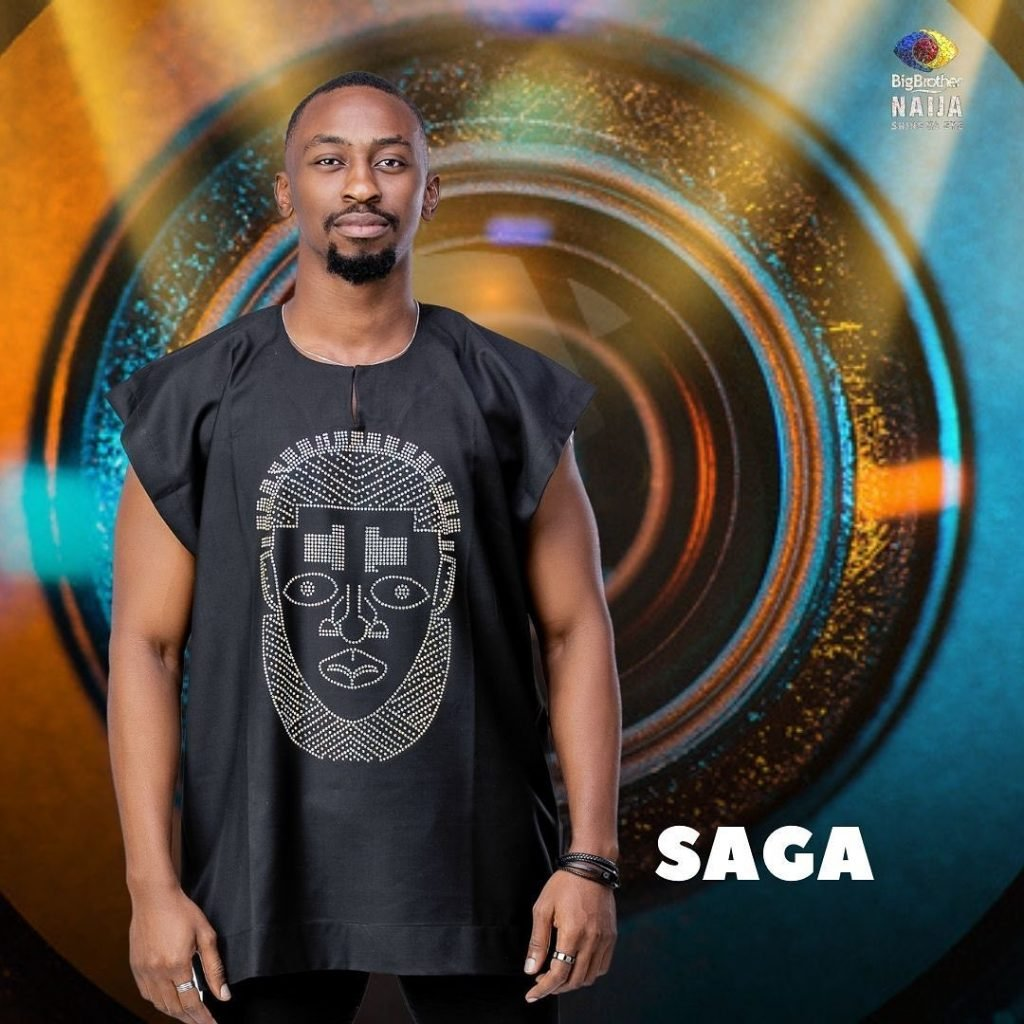 #BBNaija Day One: BBNaija: Why I Was A Disappointment To My Dad – Housemate, Saga Reveals