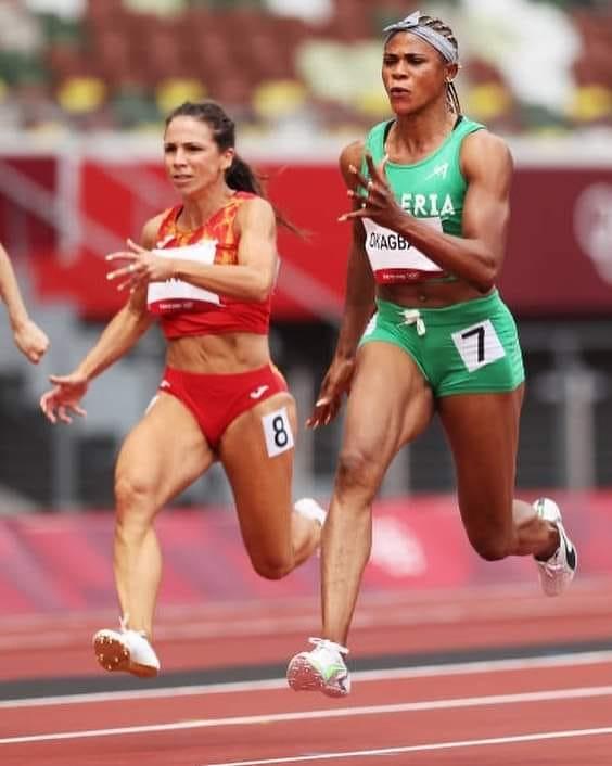 Okagbare, Nwokocha qualify for women's 100m semi-finals