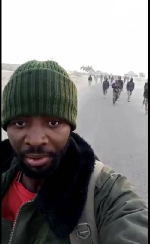 Nigerian Army Lied; My Husband Wasn't Fake Policeman – Wife Of Suspect Arrested In Borno Shares Video Evidence police 20naija