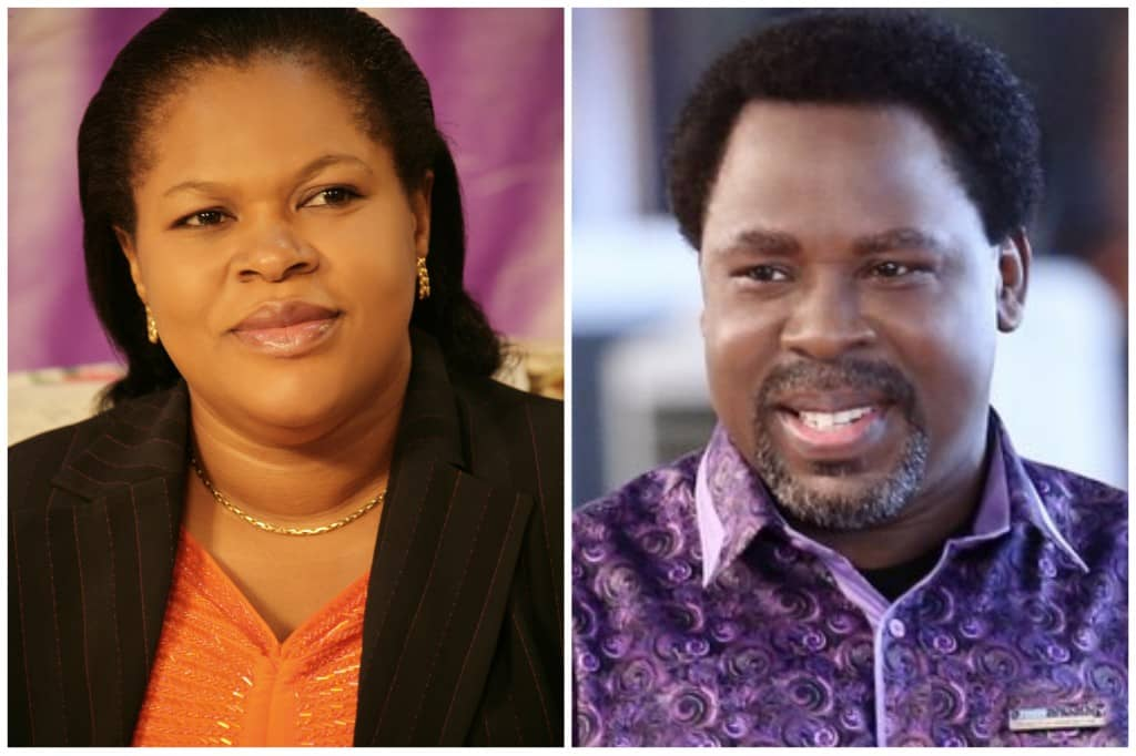 Evenly and TB Joshua