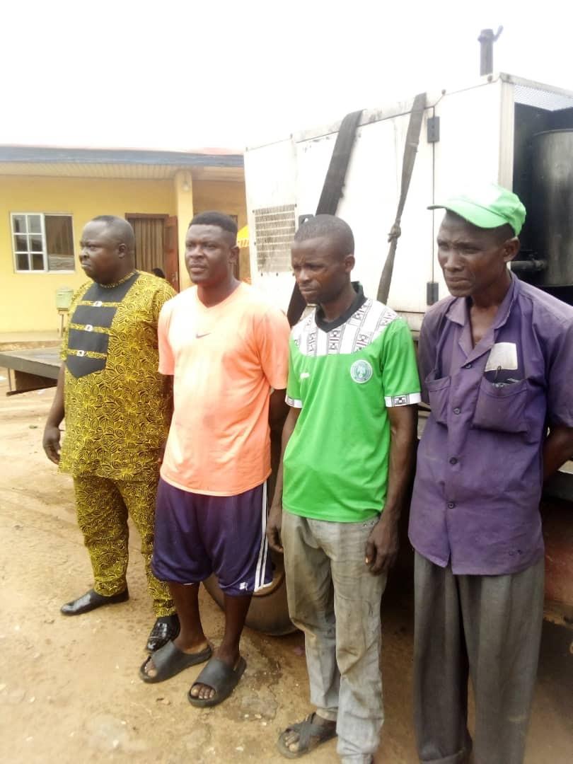Generator thieves apprehended in Ogun