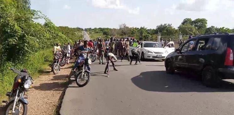 Drama As Sunday Igboho Storms Igangan Over Killings, Attacks (Photos) #Arewapublisize