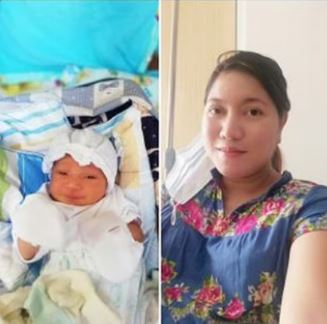 Newborn baby named HTML