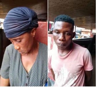 The two arrested for abusing minor
