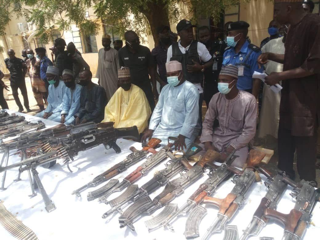 Bandits surrender weapons in Katsina