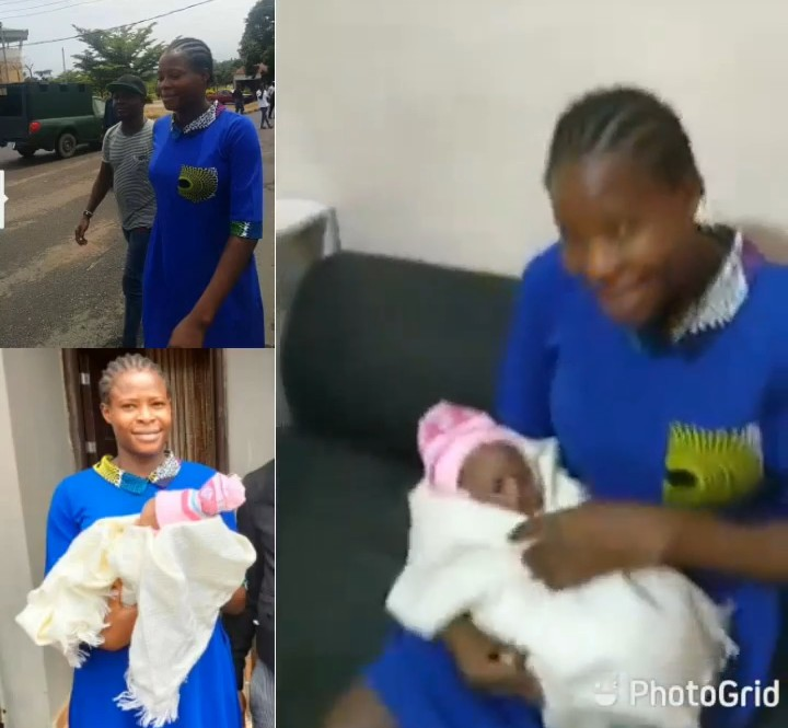 Kemisola Ogunniyi after she was granted bail today