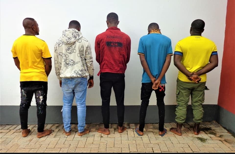 Suspected internet fraudsters arrested in Enugu