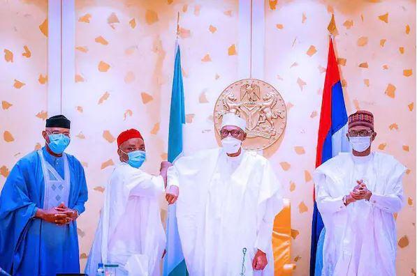 Senator Nwaoboshi meets President Buhari