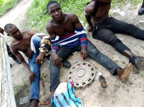 Three Men Arrested With Containers Of Fresh Human Blood In Delta