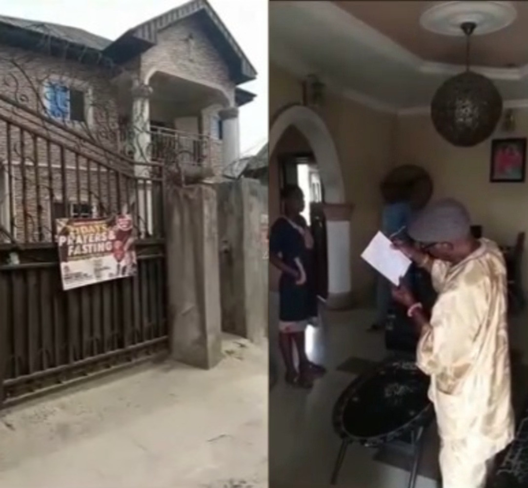 Man donates house to Christ Embassy leaving family members stranded
