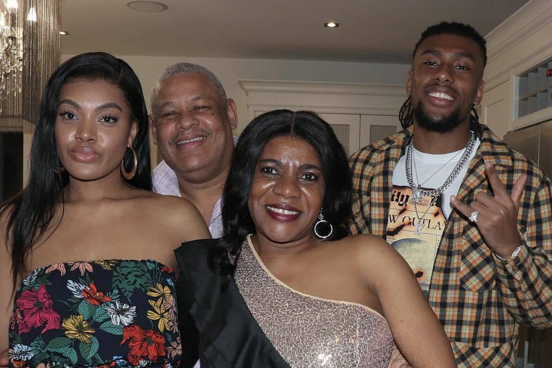 Iwobi celebrates her mother's birthday on his Instagram page