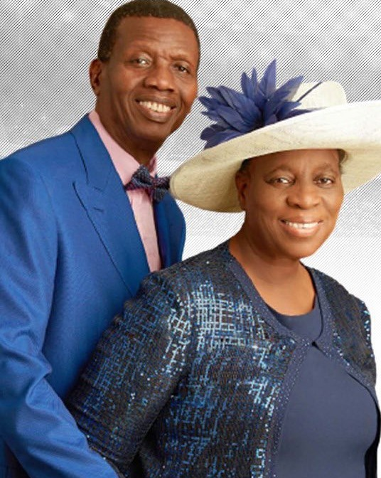 Adeboye and wife, Folu