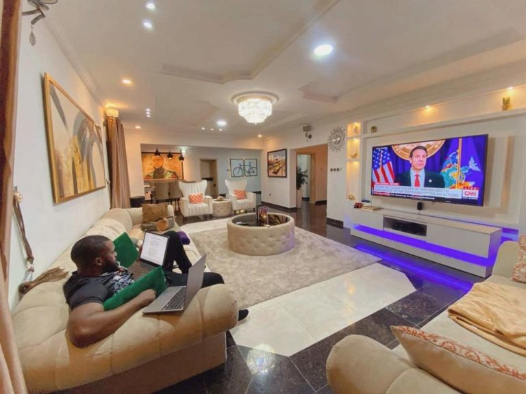 Williams Uchemba's home