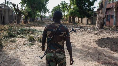 Horror! Nigerian Soldier Tortures 10-year-old Boy To Death For Plucking Mangoes In Barracks