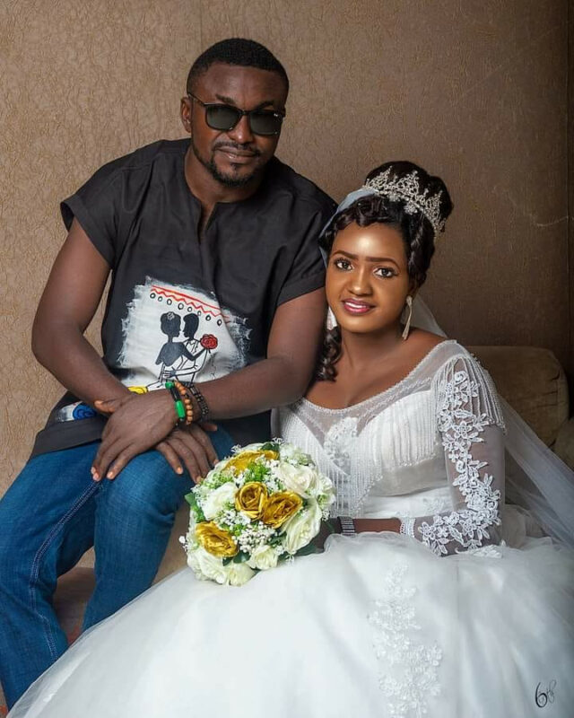 Orseer wore Dashiki to his wedding