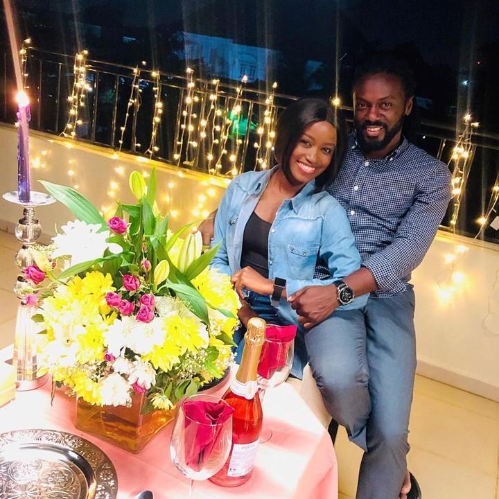 Chisom revealed she married her Geography teacher on Twitter