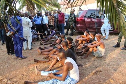 Ritualists caught in Delta state
