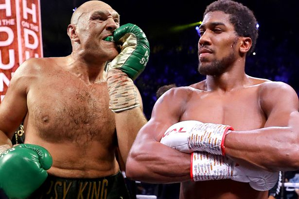 Anthony Joshua and Fury to fight in unification battle