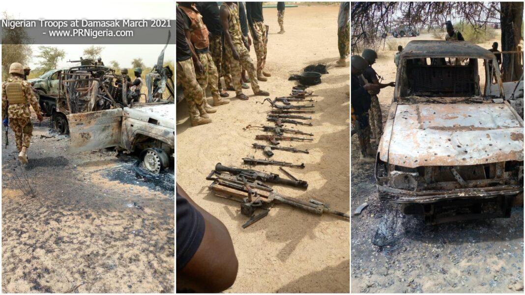 Boko Haram terrorists destroyed in Borno