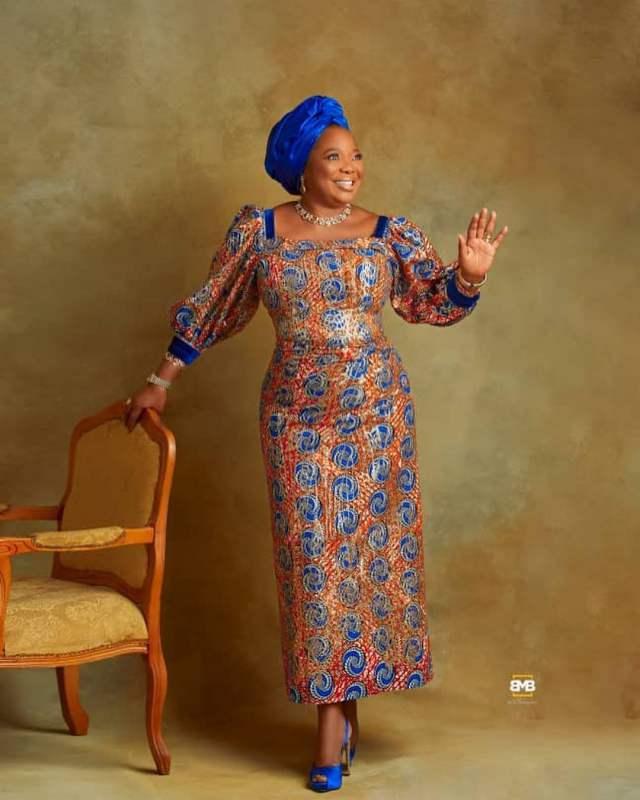 Funke Akindlele's mother