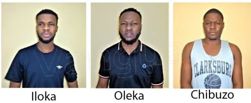 The three men convicted for fraud in Enugu