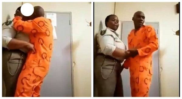 Female warder caught sleeping with an inmate in South Africa