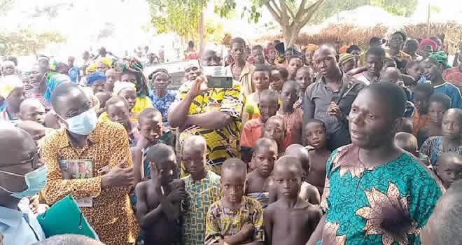Ogun residents in Benin Republic (File photo)