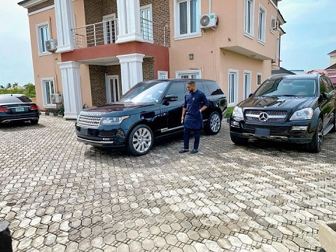 Williams Uchemba flaunts cars and mansion
