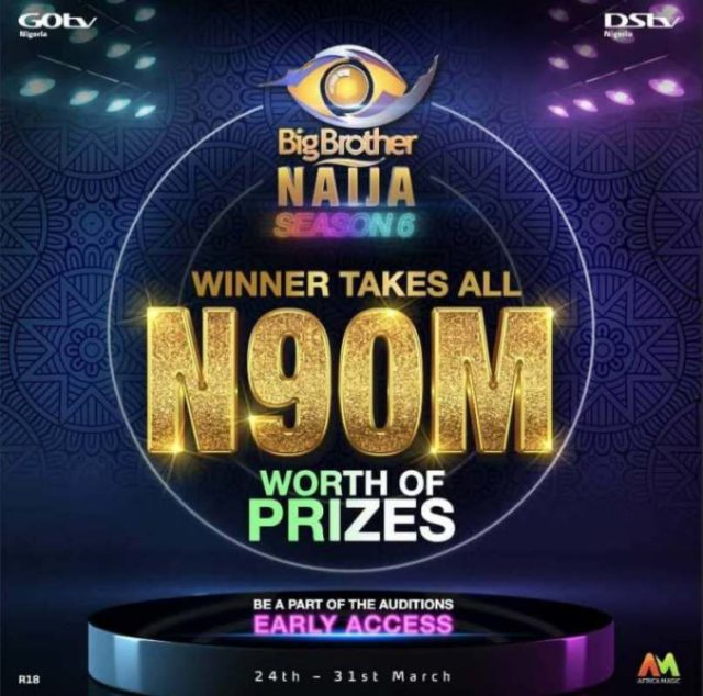 BBNaija prize money is N90 million