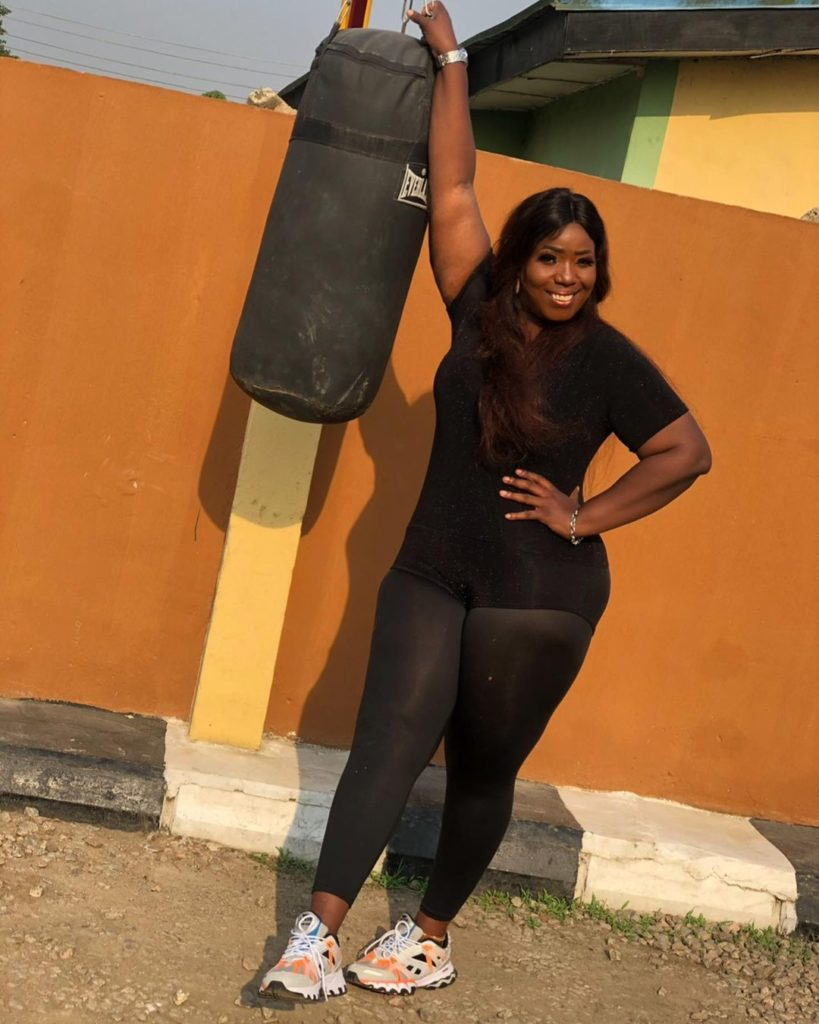 Comedienne, Lepacious Bose shows off new body and shape