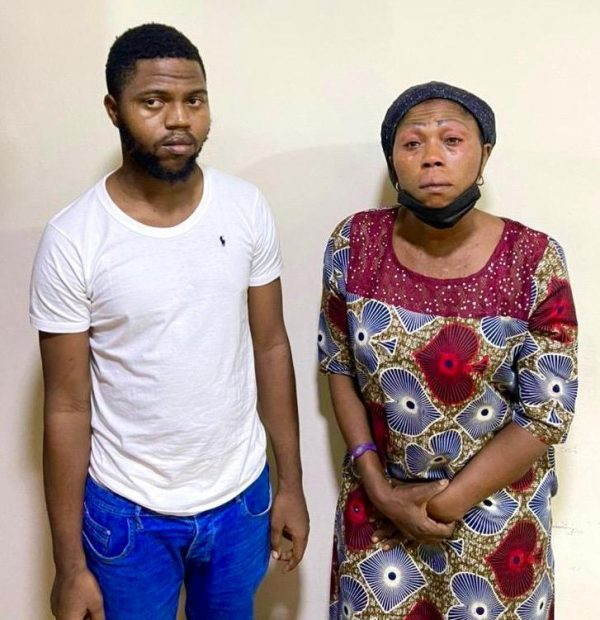 Theophilus and mother arrested for online scam