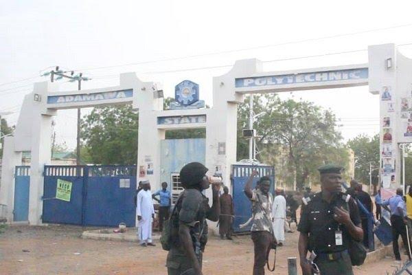 Adamawa Polytechnic hostel burnt down