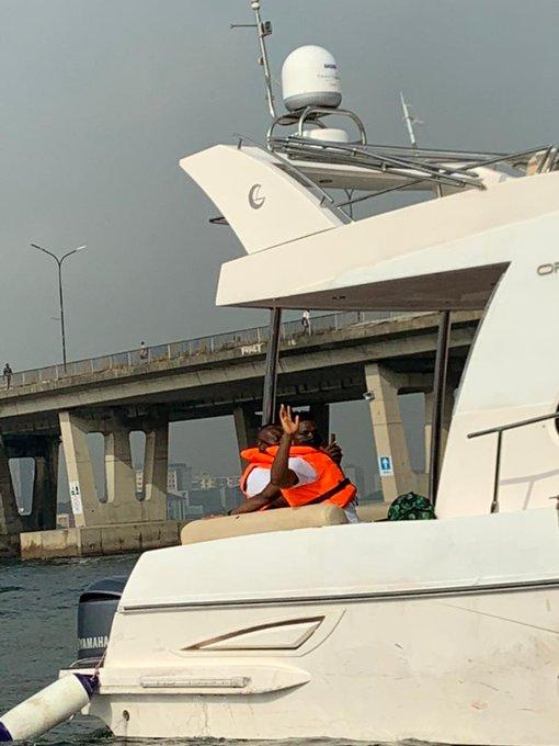 Super Eagles take boat trip to Benin