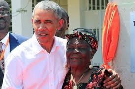Barack and Onyango