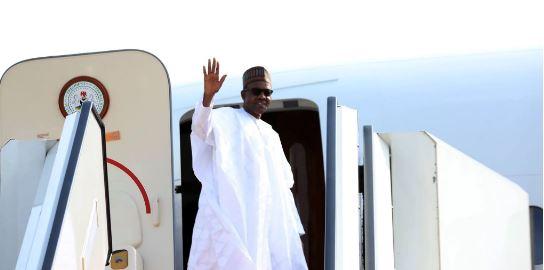 Buhari travels to London