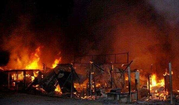 Kaduna garage fire