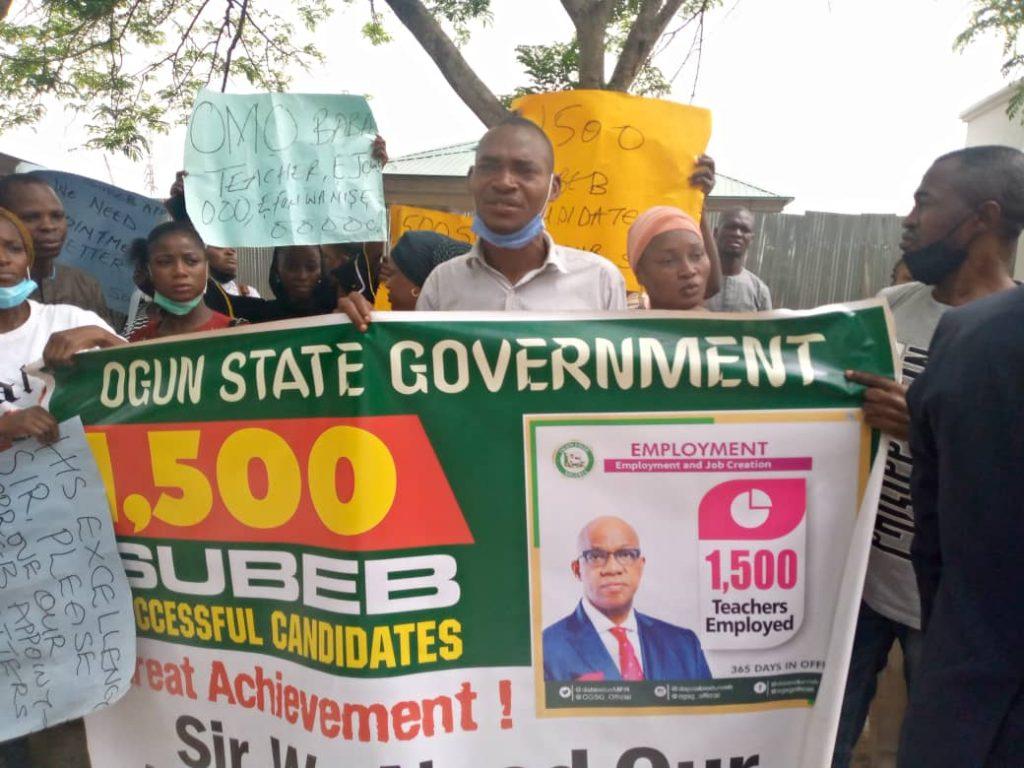 Protest rocks Ogun state