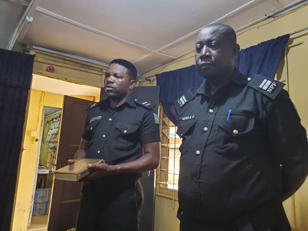 Police officer on trial