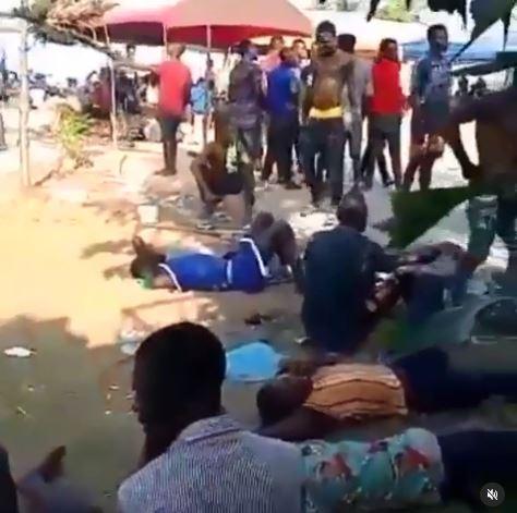 Nigerians humiliated in Ghana